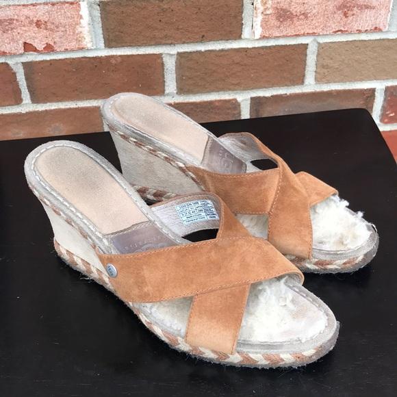 e788d97c614 UGG Australia Margot 1689 wedge sandal Sz 9